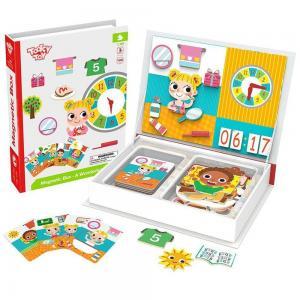 Tooky Toy Магнитна игра Часовника и времето