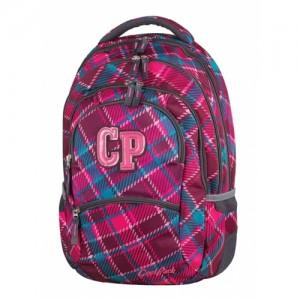 Cool Pack College ученическа раница Cranberry check