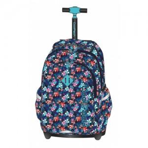 Cool Pack Tropical Bluish ученическа раница с колелца