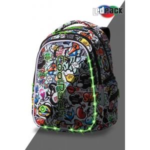 Cool Pack Светеща LED раница Graffiti Joy M