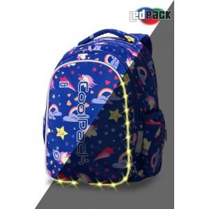 Cool Pack Светеща LED раница Unicorns Joy M