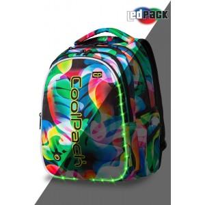 Cool Pack Светеща LED раница Rainbow Leaves Joy L