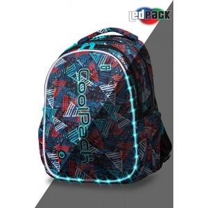 Cool Pack Светеща LED раница Triangles Joy L