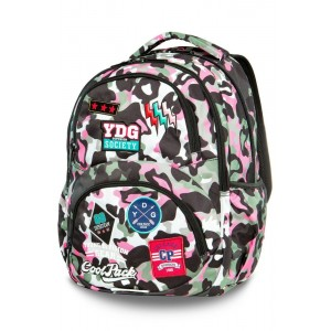 Cool Pack Dart раница Camo Pink Badges