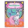 eeBoo комплект за рисуване Girl with Stars