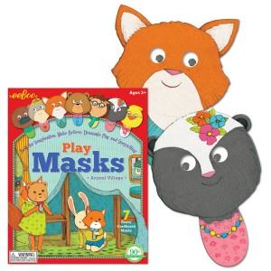 eeBoo комплект маски горски животни