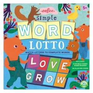 eeBoo образователна игра лото с думи