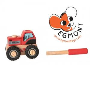 Egmont Дървен трактор с отвертка