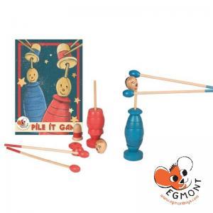 Egmont Дървена игра за умения PILE-IT