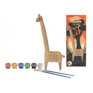 Egmont Дървен жираф за оцветяване
