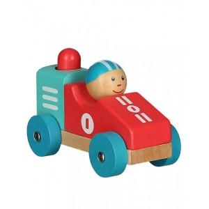 Egmont Дървена количка с бибитка