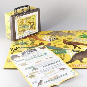Floss&Rock пъзел динозаври