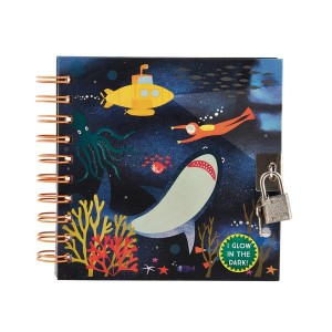 Floss&Rock светещ на тъмно таен дневник Deep Sea
