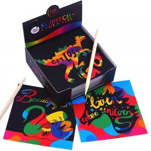 Jar Melo Комплект цветни скреч картинки