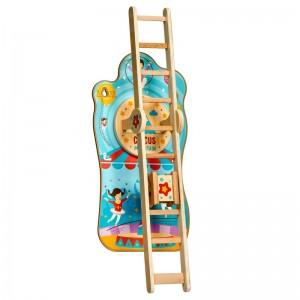 LucyLeo Интерактивна играчка за стена Цирк