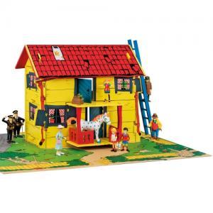 Micki Дървена къща за игра Вила Вилекула Pippi