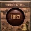 Винтидж футболна топка от 1863 г.