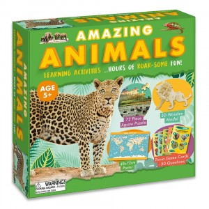 Amazing Образователен комплект животни