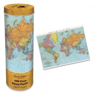 Пъзел 1000 ел. Edward Stanford Карта на света