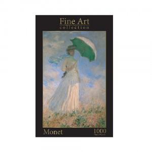 Пъзел 1000 ел. Клод Моне - Жена с чадър