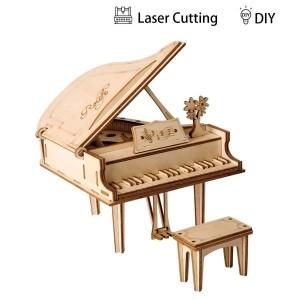 Robotime Дървен 3D пъзел Grand Piano