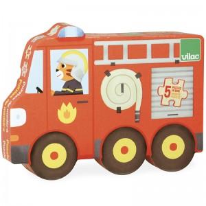 Vilac дървени пъзели - превозни средства