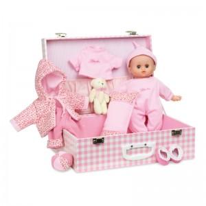 Petitcollin бебе в куфар с аксесоари