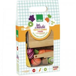 Vilac Комплект плодове и зеленчуци за рязане