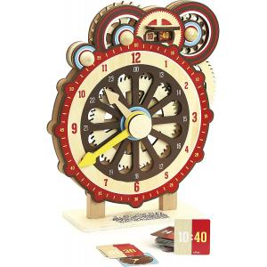 Vilac Machinalirleur Дървен образователен часовник