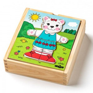 Woodyland комплект пъзели котетo Мъри
