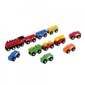 WOODY комплект коли и влакчета