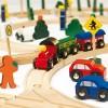 WOODY Дървен влак - 100 части