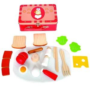 WOODY  Куфарче с продукти за рязане