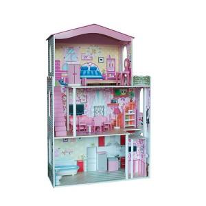 WOODY  Дървена къща за кукли с асансьор