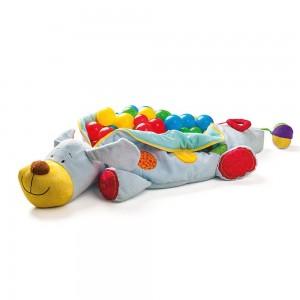 Niny Мека играчка куче с 60 бр. топки