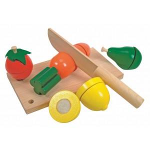 WOODY  Дъска за рязане с плодове и зеленчуци